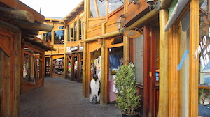 City Calafate Patagoniastreets and shopping
