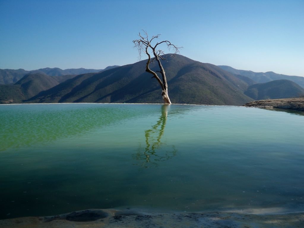 Pictures of Mexico, Hierve El Agua - Calcified Waterfalls
